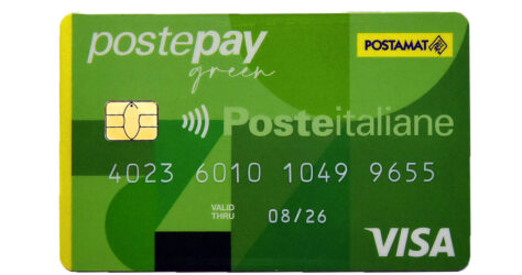 Postepay green